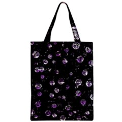 Purple Soul Zipper Classic Tote Bag by Valentinaart