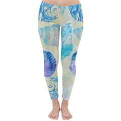 Seashells Winter Leggings