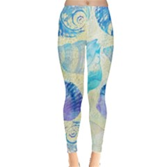 Seashells Leggings  by DanaeStudio