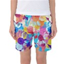Anemones Women s Basketball Shorts View1