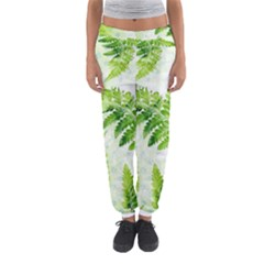 Fern Leaves Women s Jogger Sweatpants by DanaeStudio