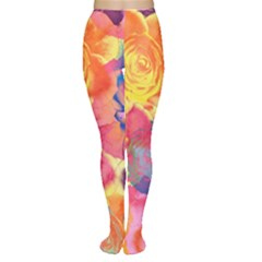 Pop Art Roses Tights