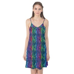 Colorful Lines Camis Nightgown  by DanaeStudio