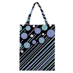 Blue Transformation Classic Tote Bag by Valentinaart