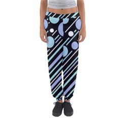 Blue Transformation Women s Jogger Sweatpants by Valentinaart