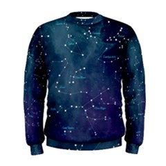 Constellations Men s Sweatshirt by DanaeStudio