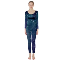 Constellations Long Sleeve Catsuit