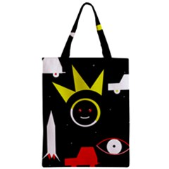Stay Cool Zipper Classic Tote Bag by Valentinaart