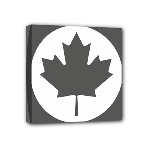 Low Visibility Roundel Of The Royal Canadian Air Force Mini Canvas 4  X 4