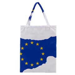 European Flag Map Of Cyprus  Classic Tote Bag