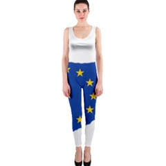 European Flag Map Of Cyprus  Onepiece Catsuit