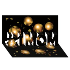 Golden Balls #1 Mom 3d Greeting Cards (8x4)