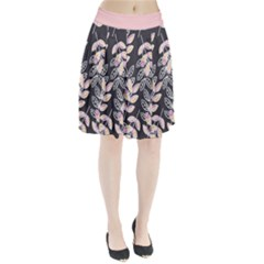 Winter Foliage Pleated Skirt by DanaeStudio