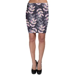 Winter Foliage Bodycon Skirt by DanaeStudio