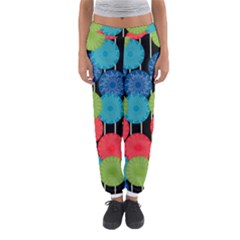 Vibrant Retro Pattern Women s Jogger Sweatpants by DanaeStudio