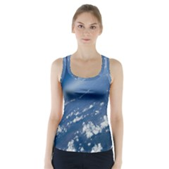 Space Photography Racer Back Sports Top