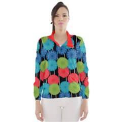 Vibrant Retro Pattern Wind Breaker (Women)