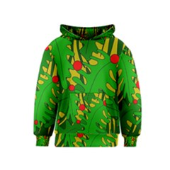 In The Jungle Kids  Pullover Hoodie by Valentinaart