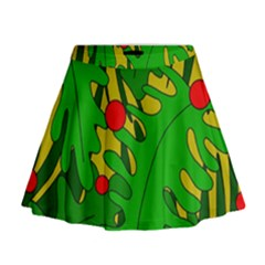 In The Jungle Mini Flare Skirt by Valentinaart