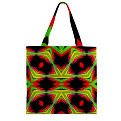 Gtgt Zipper Grocery Tote Bag by MRTACPANS