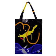 Crazy Dream Classic Tote Bag by Valentinaart