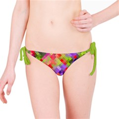 Colorful Mosaic Bikini Bottom by DanaeStudio