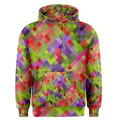 Colorful Mosaic Men s Pullover Hoodie by DanaeStudio