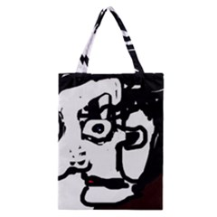 Old Man Classic Tote Bag by Valentinaart