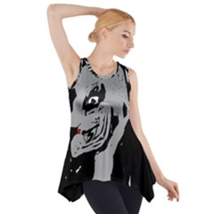 Horror Side Drop Tank Tunic by Valentinaart
