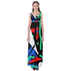 Find Me Empire Waist Maxi Dress by Valentinaart