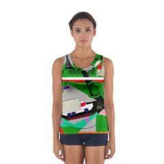 Trip Women s Sport Tank Top  by Valentinaart