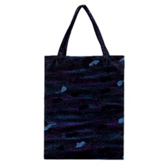 Blue Moonlight Classic Tote Bag by Valentinaart