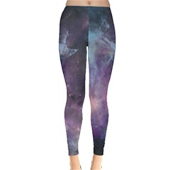 Blue Galaxy Leggings  by DanaeStudio