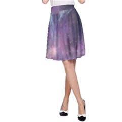 Blue Galaxy A Line Skirt