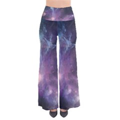 Blue Galaxy Women s Chic Palazzo Pants  by DanaeStudio