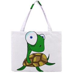 Turtle Mini Tote Bag by Valentinaart