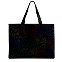 Colorful Pattern Zipper Mini Tote Bag by Valentinaart