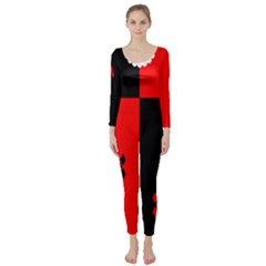 Harley Quinn Long Sleeve Catsuit by Wanni