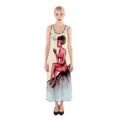 Heart Eater Sleeveless Maxi Dress