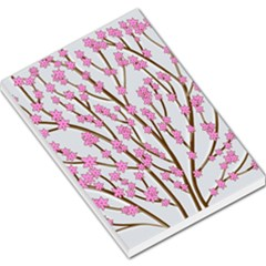 Cherry Tree Large Memo Pads by Valentinaart