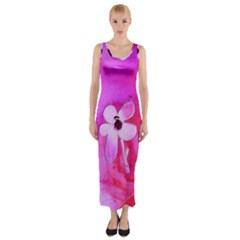 Floralpi Fitted Maxi Dress
