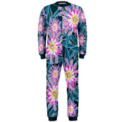 Whimsical Garden Onepiece Jumpsuit (men) by DanaeStudio
