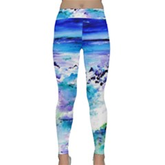 Seascap124 Yoga Leggings  by artistpixi
