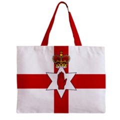 Ulster Banner Zipper Mini Tote Bag