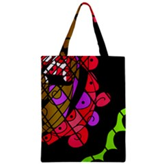Elegant Abstract Decor Zipper Classic Tote Bag by Valentinaart