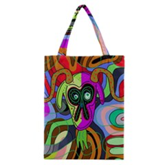Colorful Goat Classic Tote Bag by Valentinaart