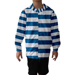 Flag Of Free Papua Movement  Hooded Wind Breaker (kids)