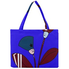 Soldier Flowers  Mini Tote Bag by Valentinaart