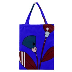 Soldier Flowers  Classic Tote Bag by Valentinaart