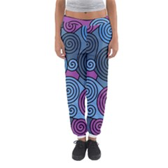 Blue Hypnoses Women s Jogger Sweatpants by Valentinaart